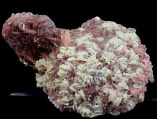 1193 Gm Large Undamaged Pink Tourmaline Crystal Cluster wth Lepidolite & Albite
