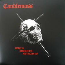 Candlemass - Epicus Doomicus Metallicus LP RED VINYL - SEALED Doom Metal Classic