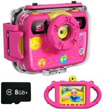 Ourlife Kids Camera, Selfie Waterproof Action Child Gift Cameras