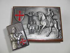 ZIPPO Feuerzeug TEMPLER 2 Crusader Limited Edition 0068/1000 Walnußholz Box NEU