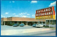 Skyland Restaurant And Lounge, U.S. 19-98-27A, Perry, Florida, Old Cars