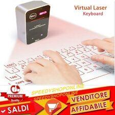 TASTIERA Bluetooth Wireless  Virtuale Laser per iPhone iPad Samsung HTC Sony