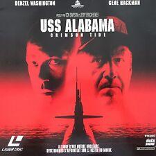 USS ALABAMA WS VF PAL LASERDISC Gene Hackman, Denzel Washington