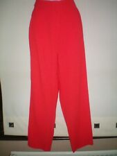 SIZE 12 RED TROUSERS BY NEW LOOK ..VGC