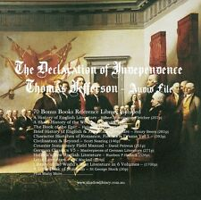 CD - Declaration of Independence - Sight Impaired, Blind  - Audio + 70 eBook