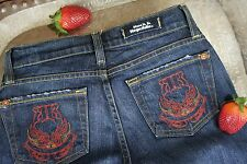Rock Republic * Jeans Schlaghose * Dark Denim Blue * 5 Pocket * W25 - Gr 32/34