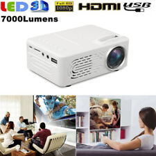 Mini HD 1080P LED Projector Home Theater Cinema HD HDMI VGA USB SD AV Multimedia