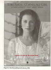 TORI AMOS Cornflake Girl 1994 UK Press ADVERT 7x5 inches