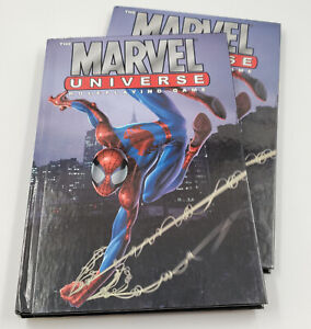 Lot of 2 Marvel Universe Roleplaying Game RPG Guide Book Hardcover