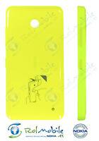 Carcasa Tapa Batería Nokia CC-3079 02506D0 para Lumia 630 / 635 Amarillo Brillo
