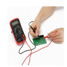 PT1002 10A Multimeter Test Lead Probe Wire Pen Cable With Alligator Clip Tool