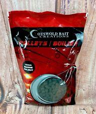 Halibut Pellets 10mm Fishing Carp Barbel bait marine halibut 900G pack