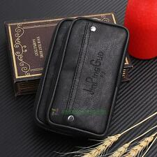 PU Leather Waist Pouch Bag Cell Phone Case Men Wallet Skin Belt Purse Fanny Pack