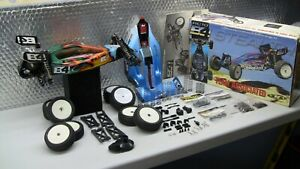 Team Associated RC10 B4 Stealth Roller + Spares + 2 Body Sets + Tuning Parts
