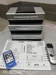 Pioneer-Stereo Anlage + Fb + Bedienungsanleitung