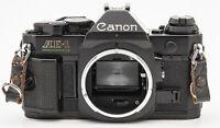 Canon AE-1 Program Spiegelreflexkamera SLR Kamera schwarz