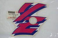Adesivo fiancata sx Left fairing decal stripe Yamaha YZ 125 1991