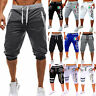 Mens Sports Jogger Sweat Pants Running Gym Workout Shorts Summer Casual Bottoms