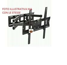 "Supporto staffa da muro parete VESA tv da 26 55"" tv lcd plasma TFT led Curvo tv"