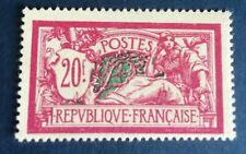 France n° 208 20f  .lilas Neuf ** Fraîcheur Postale TTB Côté 550€