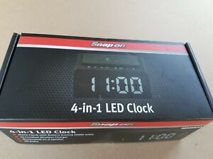 Snapon snap on  bluetooth 4 in 1 Led alarm Clock  wireless phone charger