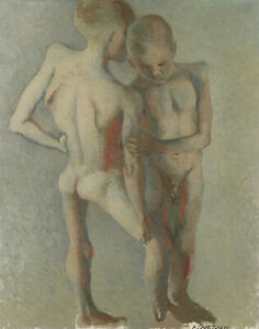 Tchelitchew Pavel Young Boys Print 11 x 14   #5611