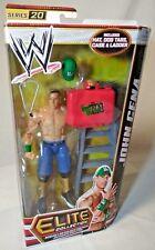 WWE JOHN CENA Elite Series 20 Wrestling Figure w/ Hat, Tags, Case, & Ladder W8