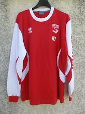 Maillot NIMES OLYMPIQUE porté n°13 training shirt ERREA manches longues maglia M