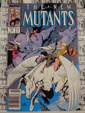 New Mutants (1983) Marvel - #56, Newsstand/UPC Variant, Simonson/Brigman, VF-