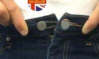 6 Pcs Unisex Universal Button Extender Jeans Pants Skirts Waist Instant Fix
