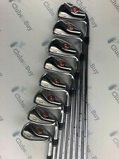 TaylorMade R11 Irons Mens Right Hand Stiff KBS Steel Shafts 4 - SW