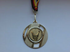 Pokale & Preise e237 Kegeln Pokal Medaillen 3er Set 50mm mit Medaillen-Band Turnier Emblem
