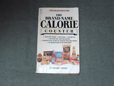The Brand Name Calorie Counter by Corinne T. Netzer (1986, Paperback, Revised)