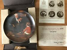 """""""The Tycoon� by Norman Rockwell Collector's Plate"""