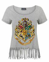 Harry Potter Hogwarts Crest Women's Fringe Top