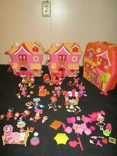 Rare HUGE Lot of Mini Lalaloopsy Little Sisters Collections Sets Pets Furniture
