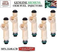 Ford Escape 3.0L V6 _yrs 01-02-03_ OEM Siemens #:YL8E-C7B Fuel Injectors 6_piece