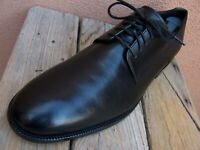 COLE HAAN Mens Dress Shoe Soft Black Leather Lace Up Plain Toe Oxford Size 10.5M