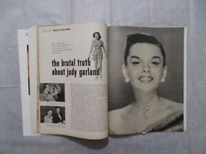"""""""THE BRUTAL TRUTH ABOUT JUDY GARLAND"""" IN 1950 MODERN SCREEN MAGAZINE"""
