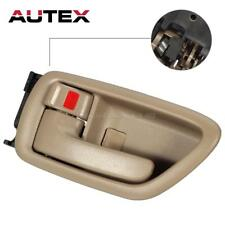 Interior Front/Rear Door Handle Left Driver Side Beige For Toyota Avalon 2000-04