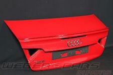 Audi A5 RS5 8F Cabrio Heckklappe Kofferraum Deckel Spoiler rear flap rear boot