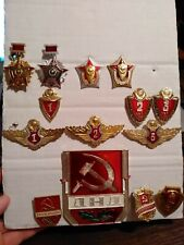 Set of badges of the officer of the Ministry of Internal Affairs of the USSR