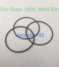3x Generic Case Back Gaskets For RLX Oyster Precision 1500, 6694 Etc - UK Stock