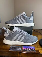 """Adidas Originals NMD R2 """"Grey Melange"""" Pack X SNS By2790 US 12 100% Authentic"""