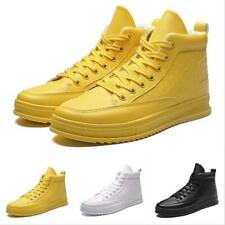 Chic Mens Sport High Top Casual Outdoor Walking Running Athletic Sneakers Shoes