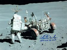 More details for charlie duke apollo 16 lmp astronaut signed autograph 10x8 photo 8 coa aftal