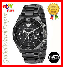 New Emporio Armani Classic style Ceramic Mens watch - AR1421 - RRP 545$