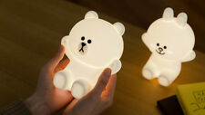 LINE FRIENDS Character HUG ME LED Touch Lamp 2 Types BROWN CONY Official Goods