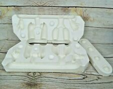 """Vintage Jointed Arms Slip Mold 22"""" Doll Duncan Ceramic Products 1984 Dd30200D"""