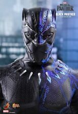 Hot Toys ~ BLACK PANTHER 1/6 SCALE ACTION FIGURE ~ MMS470 Chadwick Boseman
